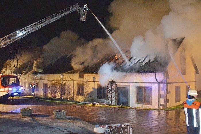 Kein Personenschaden bei Brand in Maria Bildhausen