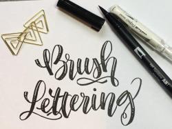Bild Hand- / Brushlettering