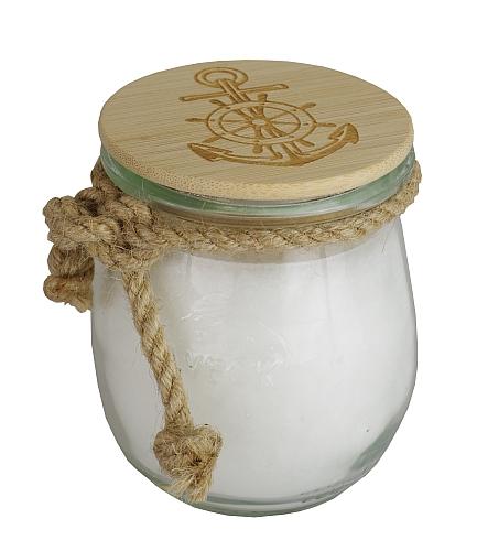 Teelichte in farbigen Kunststoffhülsen (gelb)