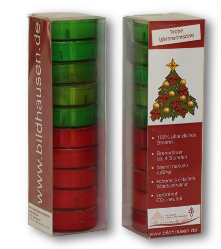 Teelichte -Weihnachtszeit-