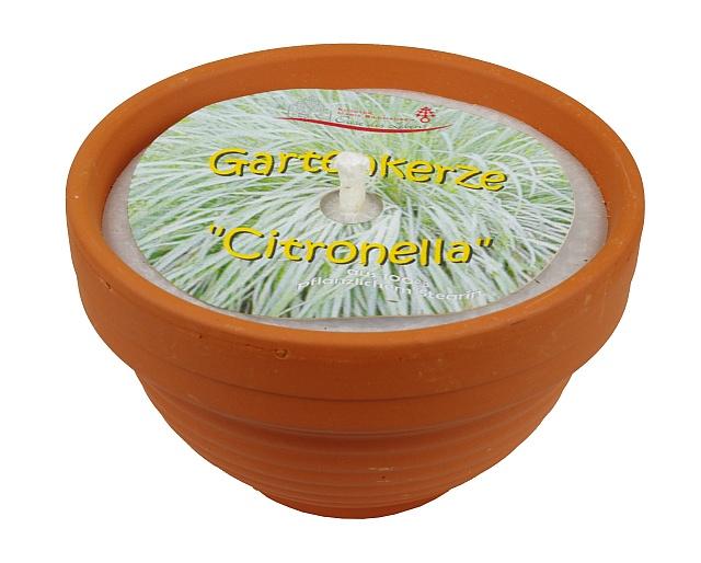 Gartenkerze -Citronella-