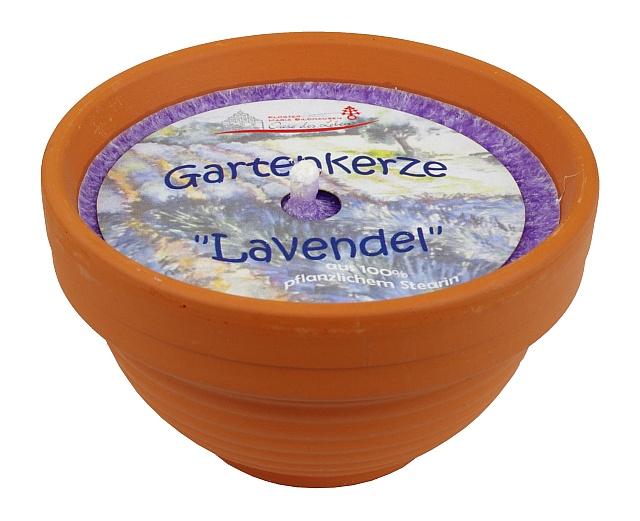 Gartenkerze -Lavendel-