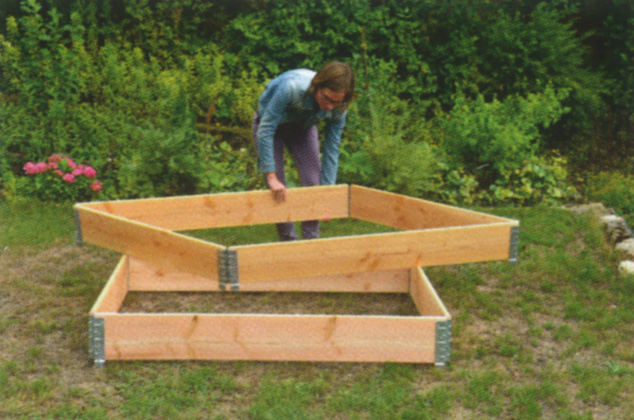 Einfach gärtnern mit Rahmenbeeten