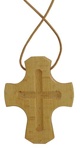 Schlichtes Holzkreuz