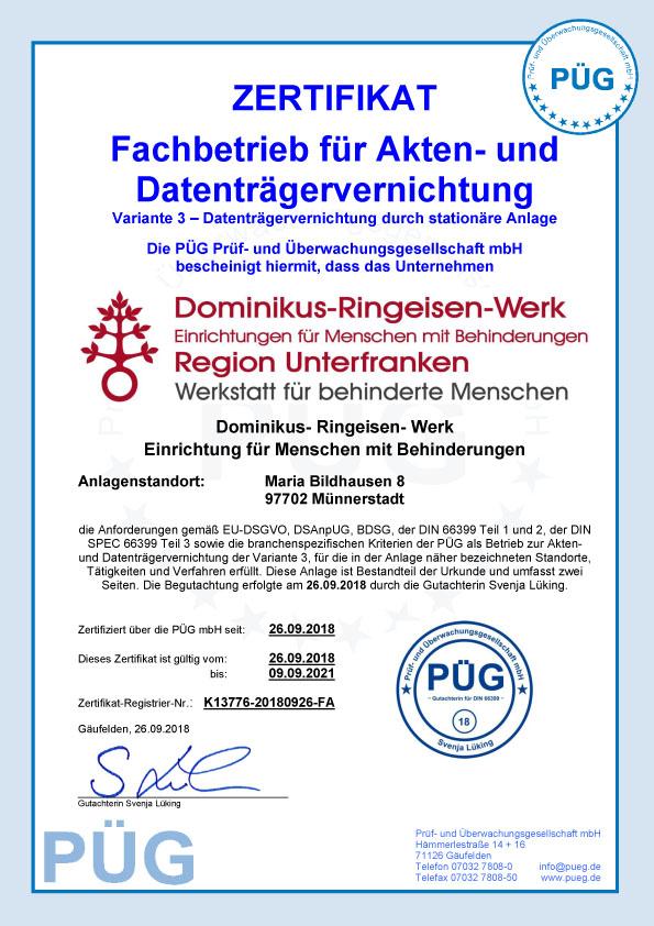 Kloster Maria Bildhausen - 54-Zertifikat_DIN_66399_DRW_Deckblatt.jpg